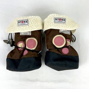 ✨3/$25✨Stonz Toddler Boots with Fleece Lining - M